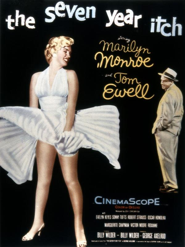 SEPT ANS DE REFLEXION de BILLY WILDER