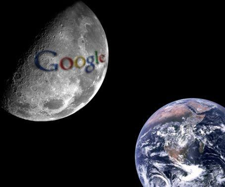 Google Earth Ended - Loading Google moon