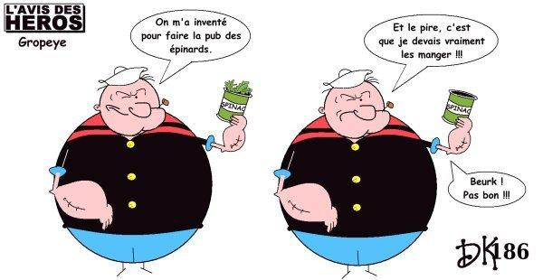 Tags : Popeye le marin, Popeye the sailorman, bd, bande dessinée, comics USA, dessin animé, épinards, spinach, Olive, dessin humour,s trip humoristique, parodie, gag, joke, image