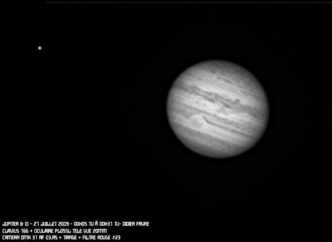 Animation de Jupiter avec la DMK 31AF03.AS