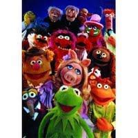 Micheline Dax et Roger Carel en interview pour le Muppet Show