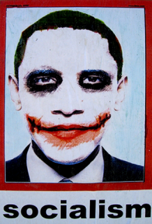 Obama et les comics : la version Joker envahit Los Angeles
