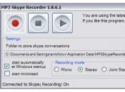 Enregistrer appels Skype