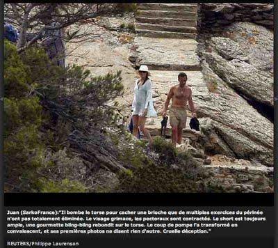 118ème semaine de Sarkofrance : pépins de vacances...