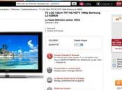 Télé Samsung 179€ chez Suisses