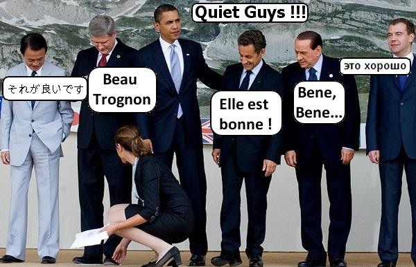 On se marre au G8 !