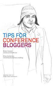 Guide pour blogger en direct pendant une conférence