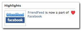 Facebook rachète frienfeed