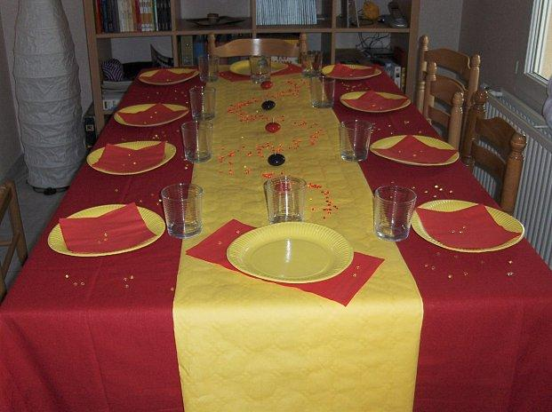 TABLE ESPAGNOLE