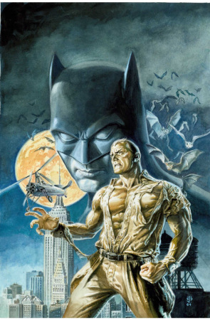 Batman et Doc Savage : l'homme de bronze face au chevalier noir