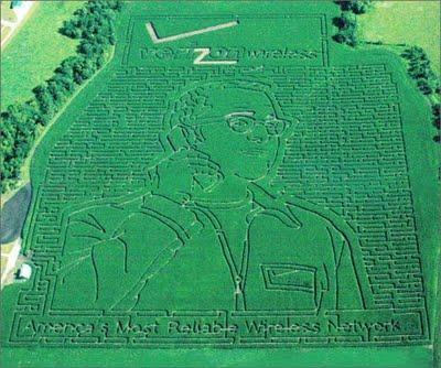 Verizon and the Largest Corn Maze...