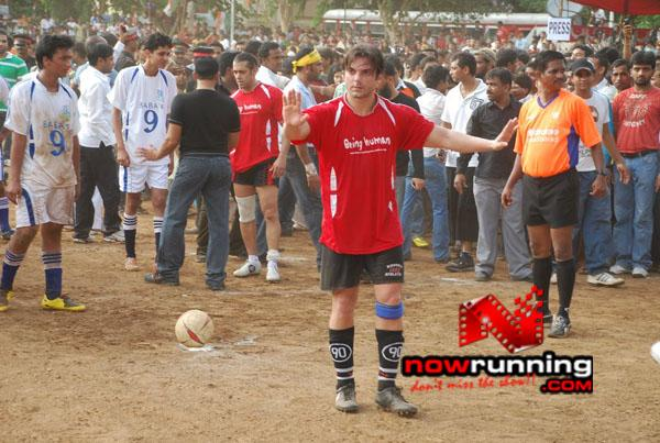 Still 14 - Salman, Sohail & Ranbir rock at Independence football match