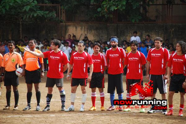 Still 3 - Salman, Sohail & Ranbir rock at Independence football match