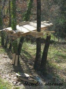 construire une cabane dans les arbres les tapes en image d couvrir. Black Bedroom Furniture Sets. Home Design Ideas