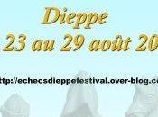 5ème Festival d'échecs Dieppe août 2009