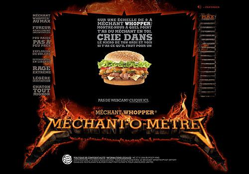 Méchant-o-Mètres Burger King