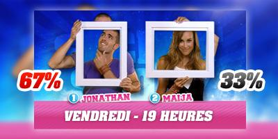 [VOTES] Estimations des votes : Jonathan en tête !
