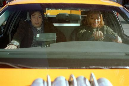 Jimmy Fallon, Queen Latifah, Tim Story dans New York taxi (Photo)