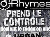 Rhymes Prend Contrôle d'Urban Legend Goom Radio Août