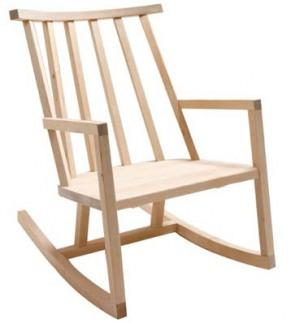 rocking chair a peindre 299 euros