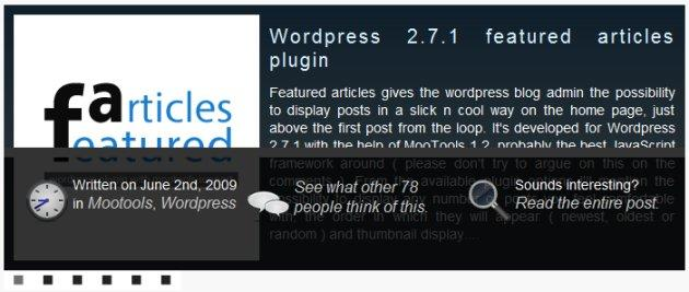 featured article wordpress plugin