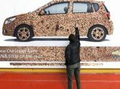 Vauxhall Billboard ambient marketing