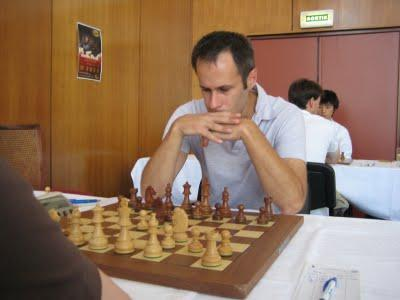 Le maître international d'échecs Hugo Tirard au Master de Dieppe © Chess & Strategy