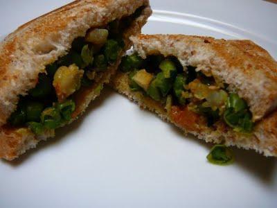 Street Food Indienne - Croque Monsieur Epicé