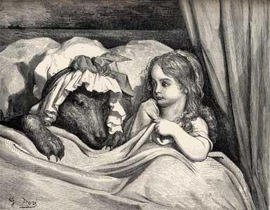 La biche, les éléphanteaux et le loup (fable socialiste et marseillaise)