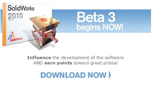 SolidWorks 2010 Beta 3 - Download Now