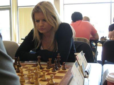 Alexandra Wilson (SUI - 2072), 2 points sur 3 dans l'Open © Chess & Strategy