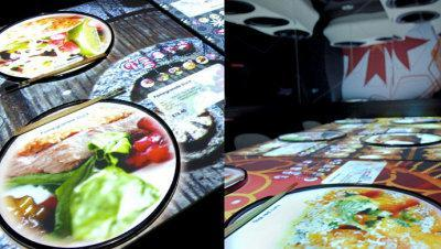 inamo restaurant interactif pour Geek !