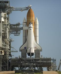 STS-128 Space Shuttle Discovery on Pad 39a