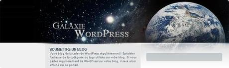 galaxie wordpress