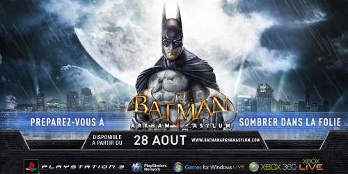 Batman arkham asylum J-3 sur Cinecomics !