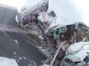 net: crash hallucinant d'un Airbus A340