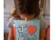 """""""J'aime mots"""" livre faire rigoler enfants leur expliquer mots sont magiques)"""
