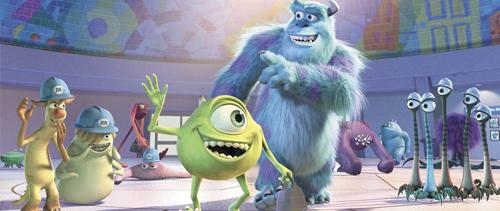 Monstres & Cie {Monsters, inc}