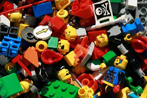 unemployment was high in lego land by woodleywonderworks.