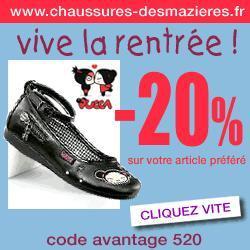 promotion Chaussures Desmazières