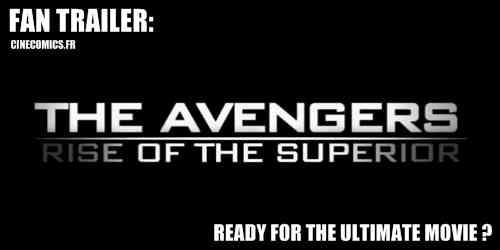 Fantrailer the avengers Cinecomics