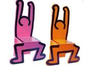 Keith Haring Chairs