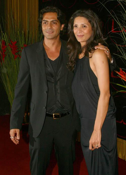 Arjun Rampal and Meher Jassia