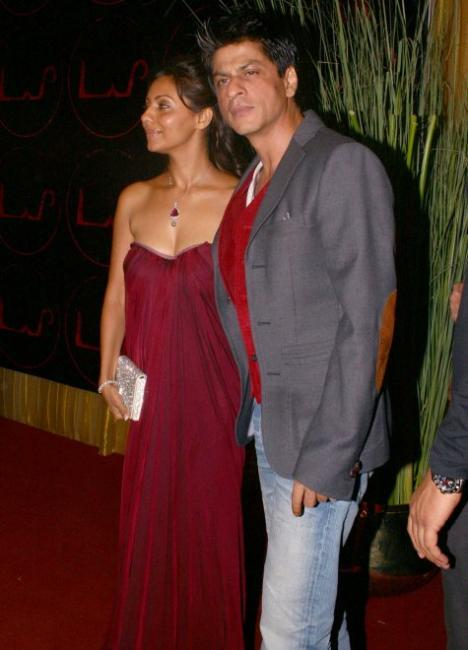 Shah Rukh and Gauri Khan
