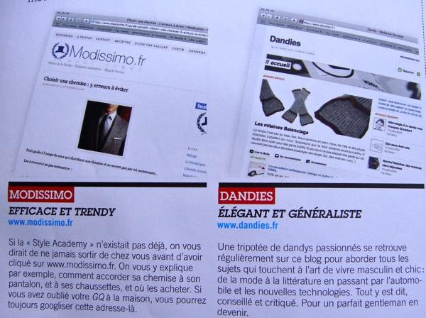 Post image for Modissimo dans GQ