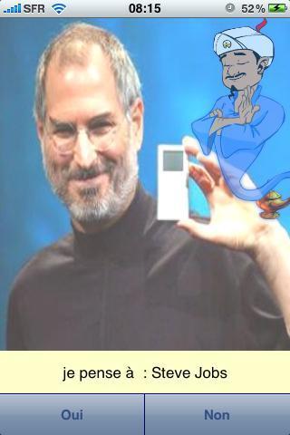 Akinator, le génie du web, sur iPhone!!