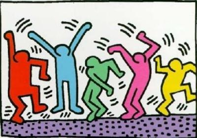 keith haring illustrations