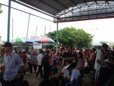 L'embarcadère d'Halong