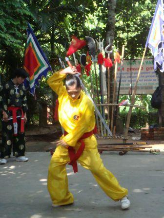 démo de kung fu