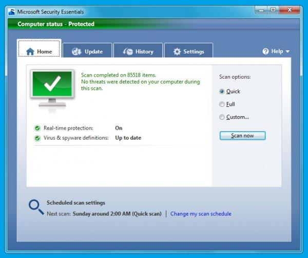 Microsoft Security Essentials Beta pour le 23 juin